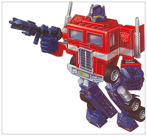 Optimus Prime Box Art