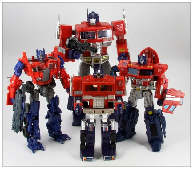 Optimus Prime Evolution